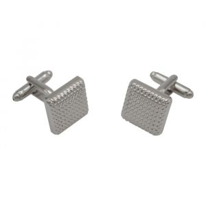 Silver Textural Gradient Cufflinks