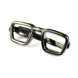 Gray Dolphin Eyeglasses Tie Bar