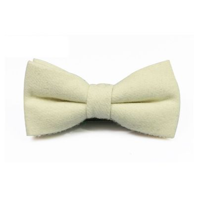 SeaShell Cotton Solid Butterfly Bow Tie