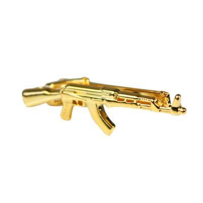Gold AK-47 Tie Bar