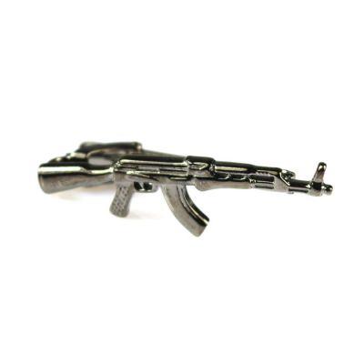 Gray Dolphin AK-47 Tie Bar