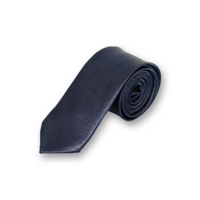 5cm Dark Slate Blue Polyester Solid Skinny Tie